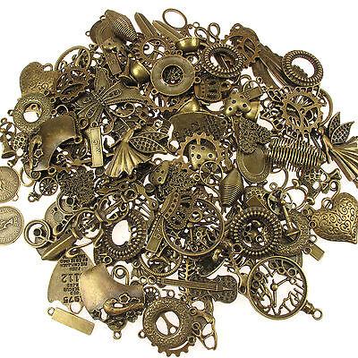 Anhänger Antik Messing Bronze Mischung Steampunk Schmuck 65g