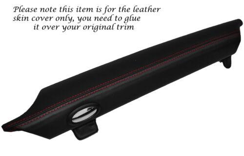 Red Stitch Top boîte à gants en cuir de couverture de peau pour BMW Mini Cooper S R56 07-13