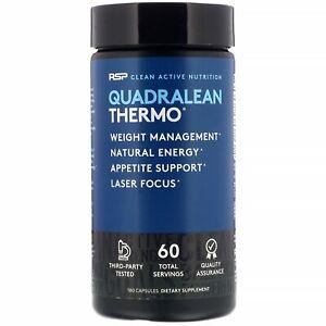 QuadraLean Thermo, Fat Burner, 180 Capsules