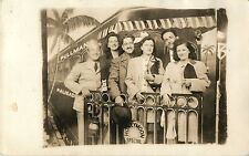 """Honeymoon Special"" Photo Studio Prop, Palisades Amusement Park NJ RPPC"