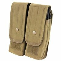Condor Ma6 Double Ar/ak Mag Pouch Tan Tactical For 5.56 & 7.62 Mags