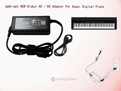 Accessory USA AC DC Adapter for Kawai ES8 Digital Home Piano 888365598109 Power Supply Cord