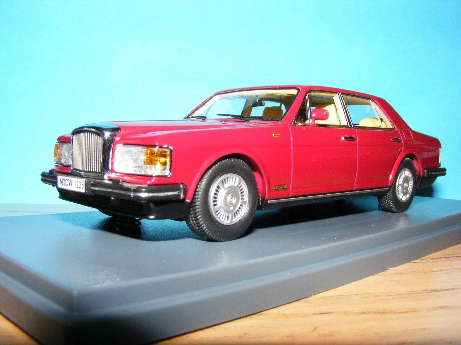 Bentley Mulsanne in Red Metallic 1 43 NLA Rare 1990 Neo model New