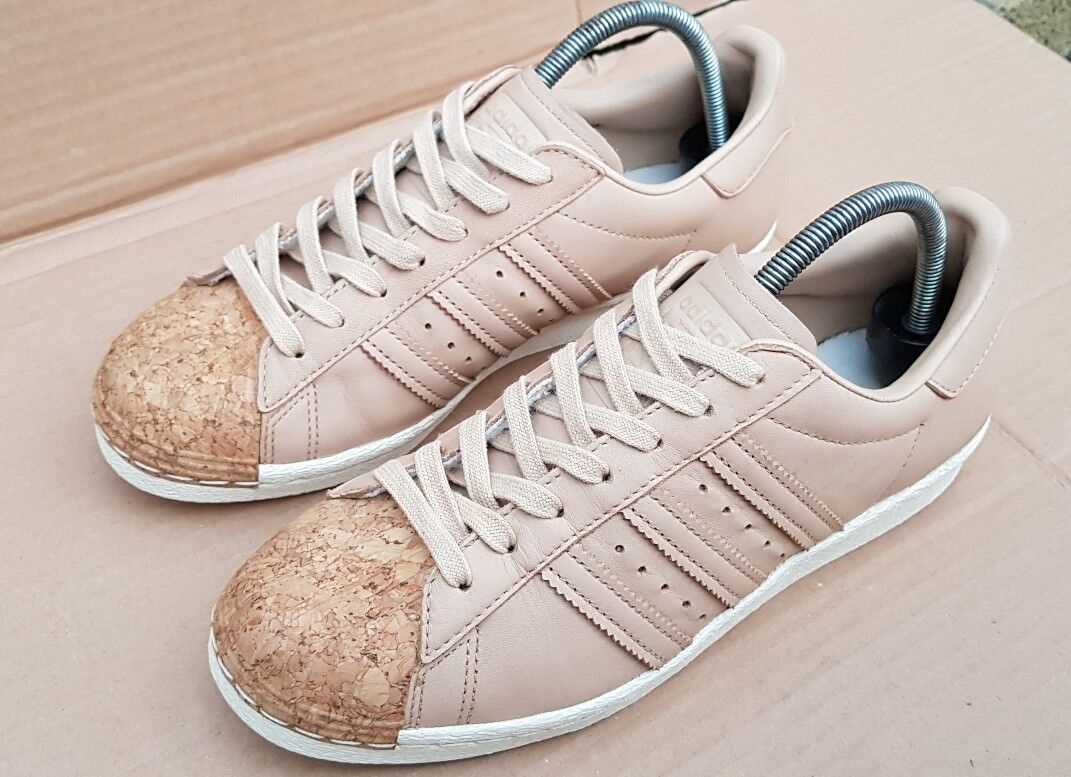ADIDAS SUPERSTAR NH Taille NEIGHBORHOOD SHELLTOE TRAINERS Taille NH 7.5DEADSTOCK RARE 277c5e