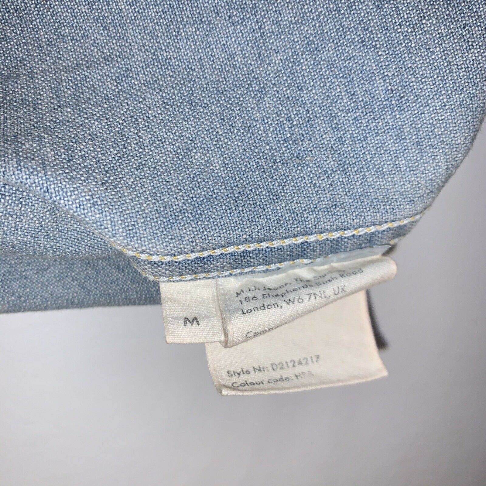Anthropologie Skirt M.i.H Jeans Button Front A Li… - image 9