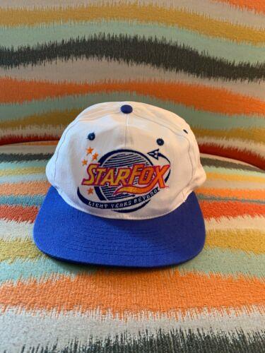 Vintage Star Fox Nintendo Gaming OSFA Snapback Hat