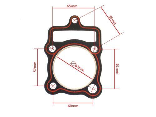Zylinderkopfdichtung CG 150 ccm HMParts Dirt Bike Quad Top End Dichtsatz