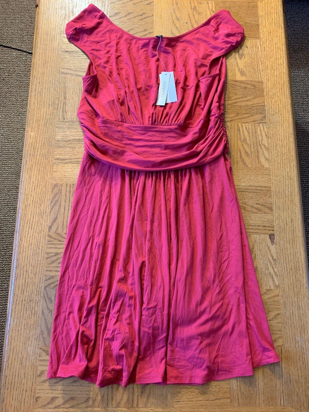 7b8e411bd6c9d Context Womens Dress Size 1X 0101 nrpjjy1108-Dresses