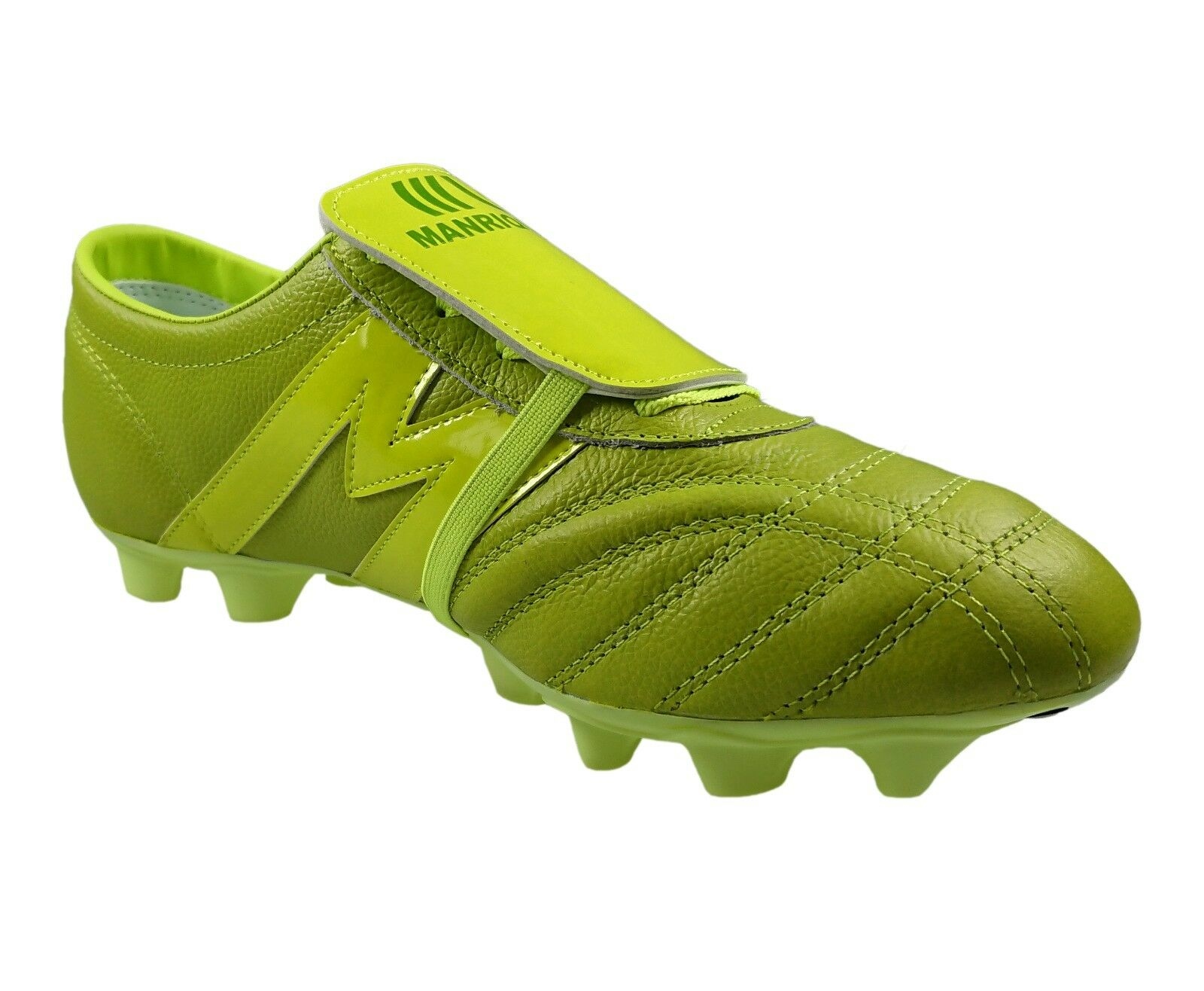 7bf02cf921f ... Soccer Cleats Manriquez MID MID MID SX Total Green Genuine Leather  5e7e65 ...