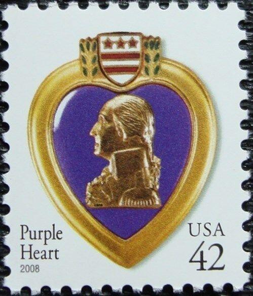 2008 42c Purple Heart, Special Issue Scott 4263 Mint F/