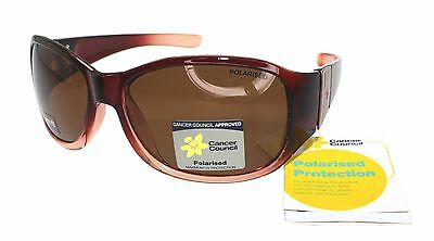 Cancer Council Womens Fashion Polarised Sunglasses Petite Roma Crystal Plum Rose