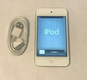 Apple-iPod-Touch-4th-Generation-blanc-8-Go-Bundle-tres-bon-etat