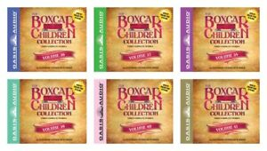 NEW-The-Boxcar-Children-Collection-Set-of-6-CD-Volume-36-37-38-39-40-41-Audio