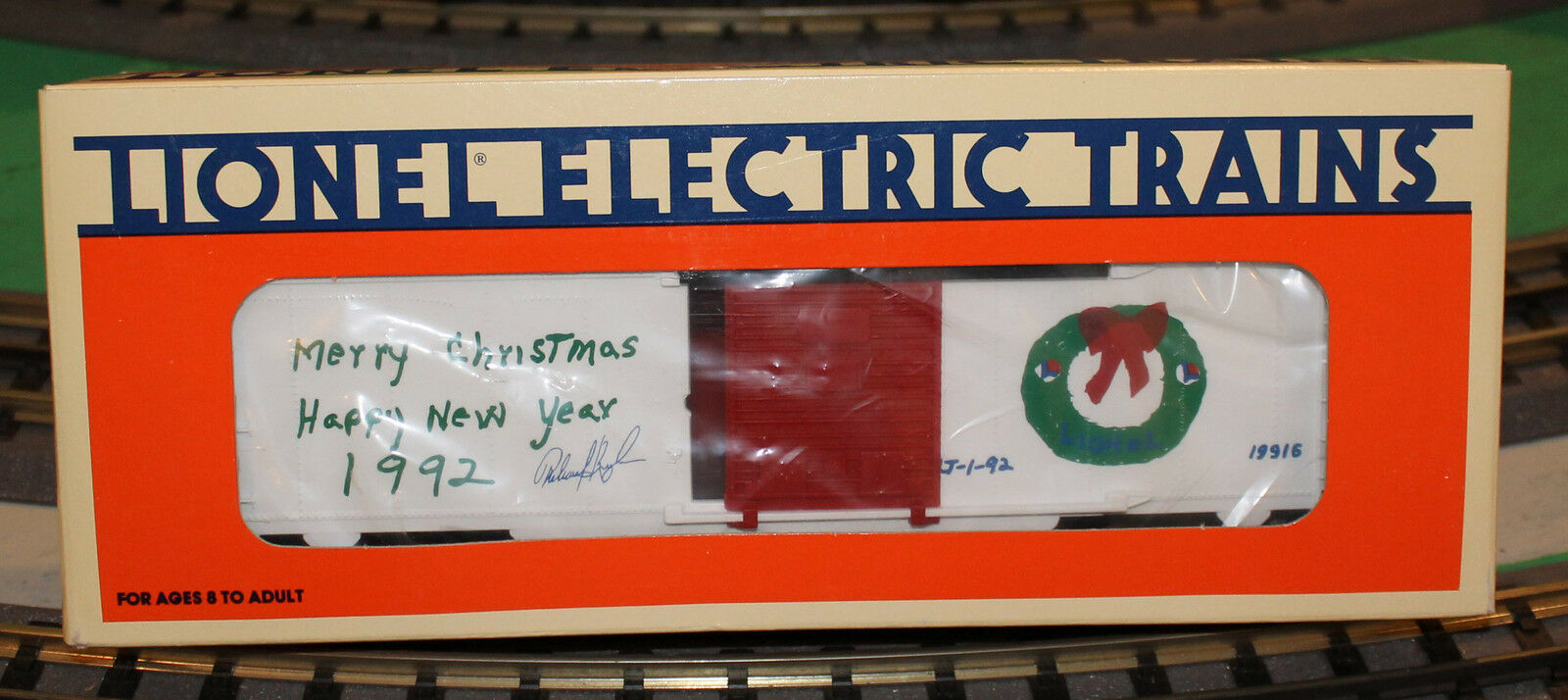 Lionel 1992 Employee Christmas Boxcar new 6-19916