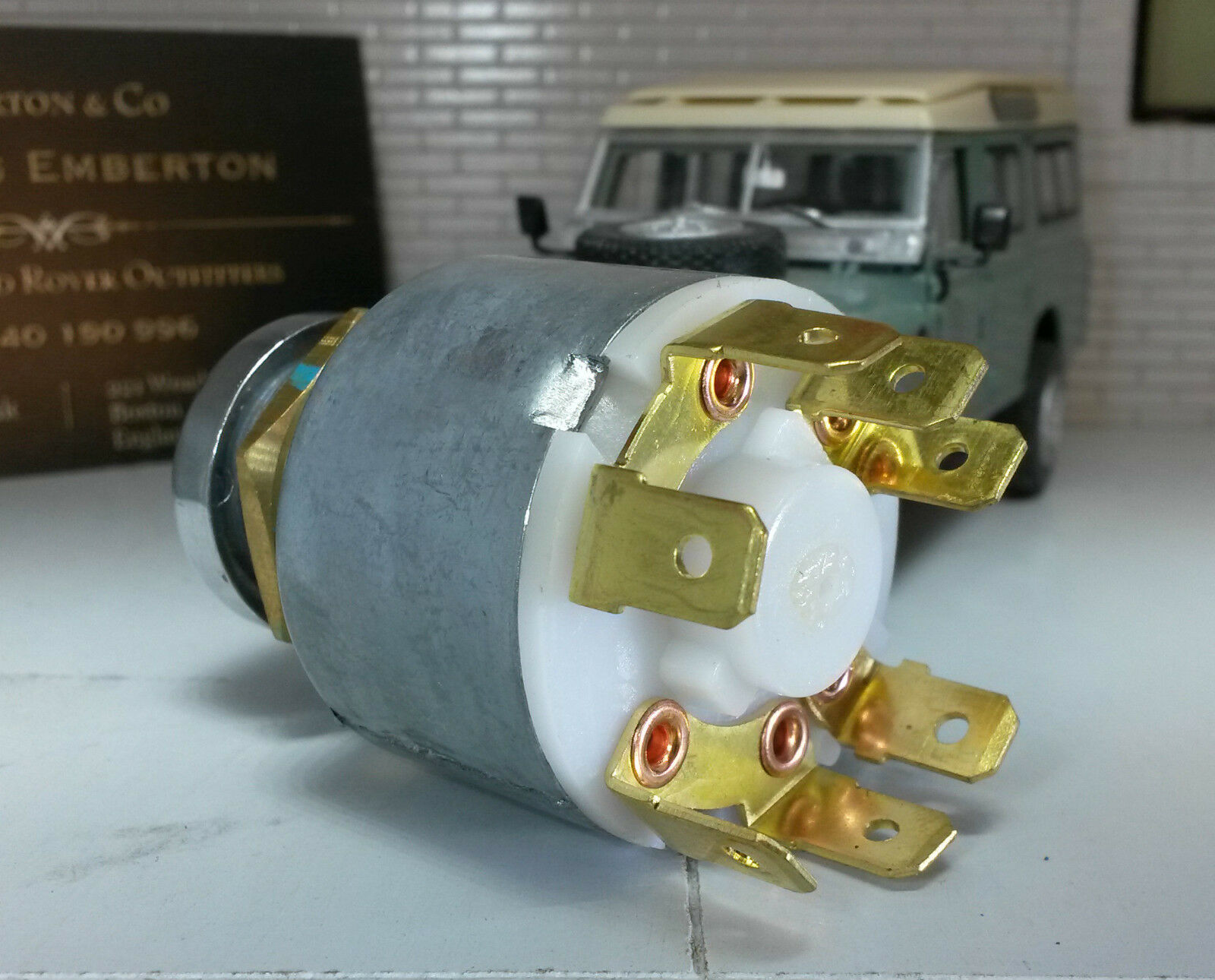 Gen Lucas Essence Allumage Interrupteur /& Clé 551508 Land Rover Série 2 3 Léger