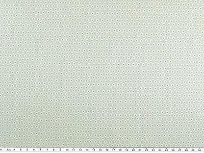 Schöner Baumwoll-Druck, Stoff, 3-farbig, Ornament, Pastellfarben 142-145cm breit