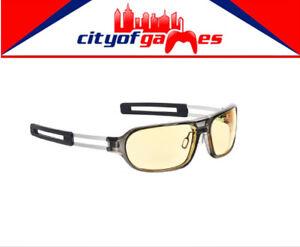 683ef329e60 Image is loading Gunnar-Trooper-Amber-Smoke-Indoor-Digital-Eyewear-Brand-