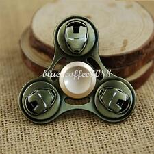 Super Heroes iron Man Metal Hand Spinner Finger Fidget EDC Game Gyro Toy Gifts