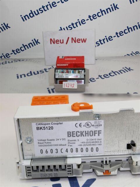 BECKHOFF Canopen Coupler BK5120 Module