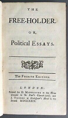 Joseph addison essays
