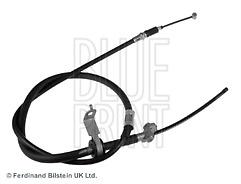 Rear Left Brake Cable Fits Toyota Granvia Hiace Blue Print ADT346236