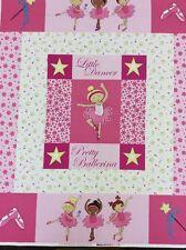 Fabri-Quilt - Pretty Ballerinas - Quilt Panel - 100% Cotton - #100-201