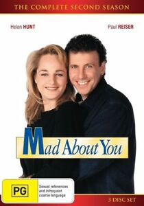 Mad-About-You-Season-2-DVD-2015-3-Disc-Set-New-Sealed-Region-4