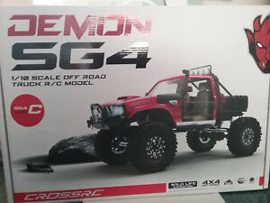 Details about Cross RC Demon SG4C 1/10 4x4 Crawler Kit w/Hard Body & Metal  Axles SG4 C CZRSG4C