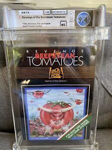 1983 Atari 2600 Revenge of the Beefsteak Tomatoes WATA 9.4 Sealed NS 🍅