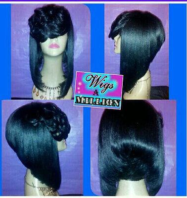 """Roxy"" Full Custom Wig (Human Hair Blend)"