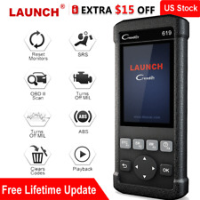 Launch Creader 619 Automotive Code Reader Abs Srs Airbag Diagnostic Scanner Tool