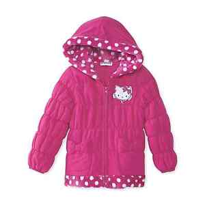 Baby & Toddler Clothing Sporting Sanrio Charmmykitty Toddler Girl's Puffer Coat Size 2t Or 4t New W/tags Comfortable Feel Outerwear