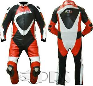 Ducati-Corse-Motorbike-Leather-Suit