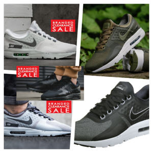huge selection of da09a 95504 ... Nouveau-Hommes-Nike-Air-Max-Zero-ESSENTIAL-NOIR-