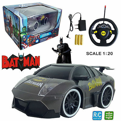 Humor 1:20 Marvel Ultimate Batman Electric Rc Radio Remote Control Car Kids Child Toy GroßEr Ausverkauf