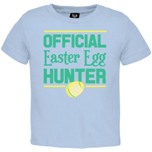 Baby Boys Official Easter Egg Hunter Toddler T-Shirt
