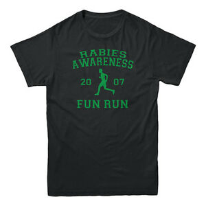 Rabies Awareness 2007 Fun Run The Office Scott TV Show Sitcom Funny Mens T-shirt