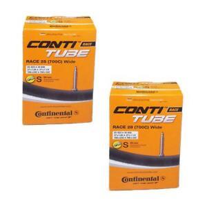 Continental Race 28-Wide-Vélo de route Tube Intérieur 700 X 25-32 Presta 60 mm