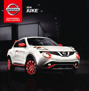 2016 Nissan Juke 16-page Original Car Sales Brochure Catalog - Nismo