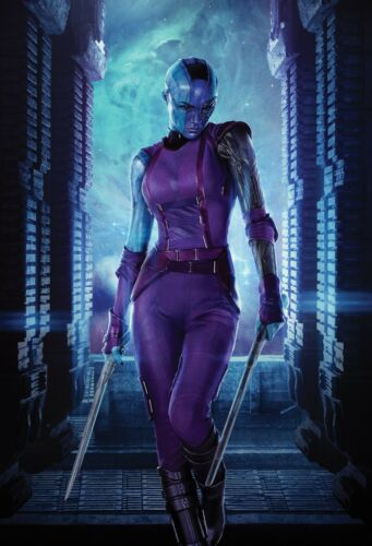 24x36 - Nebula Guardians of the Galaxy Movie Poster Karen Gillan v3
