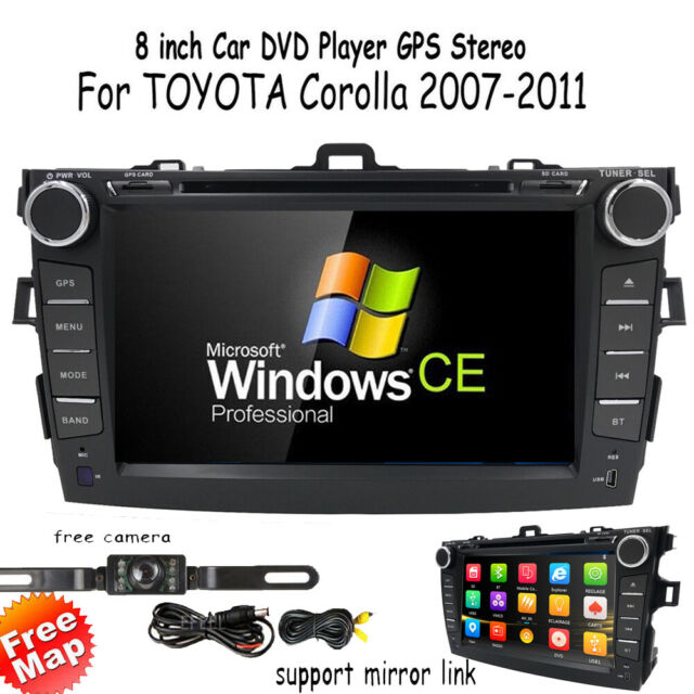 2011 toyota corolla touch screen radio