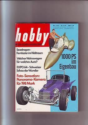 hobby 7/64 Alfa Giulia TI Super/Wohnwagen/Expo/Hot Rod/Dragster/Go-Car/25.3.1964