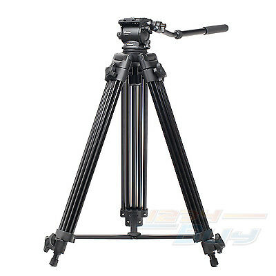 Fancier FC-270A 6KG Load Fluid Head Professional Video Camera Camcorder Tripod