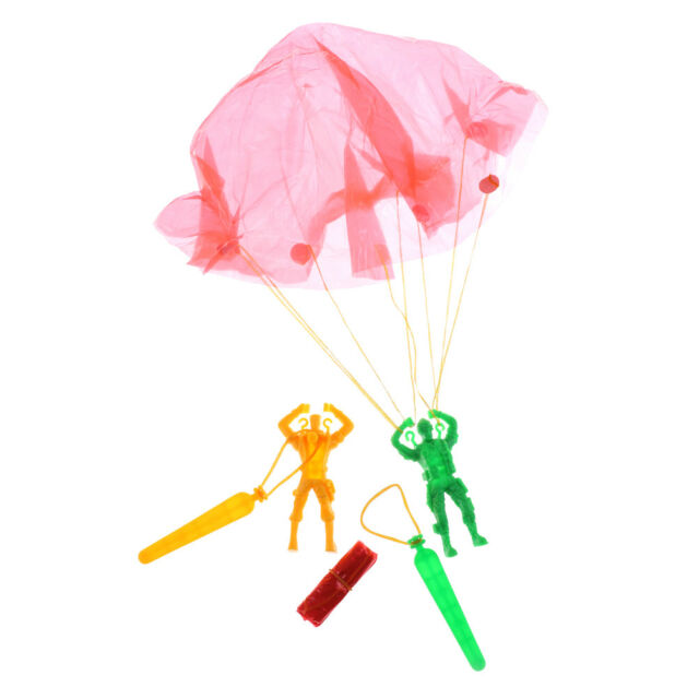 Hand Throwing Kids Mini Play Soldier Parachute Toy Children's Educational Toys T