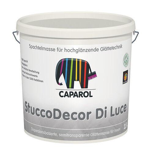 2x Caparol StuccoDecor DI LUCE 5 Liter -hochglänzende Glätte-Technik-