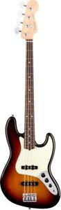 New Fender USA American Professional Jazz Bass 3 Color Sunburst Rosewood Guitar 885978724376