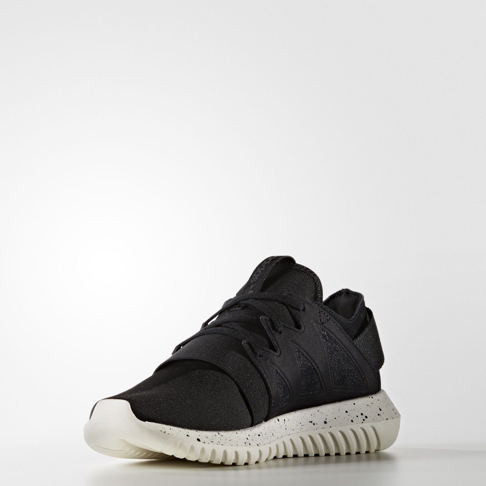 ADIDAS ORIGINALS TUBULAR VIRAL W BLACK WHITE S75915 WOMAN'S SHOES 9.5 US