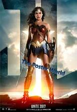 Justice League Movie Wonder Woman Poster Picture Image Wall Art Print New ZV