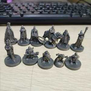 Lot-of-11pcs-Cthulhu-Wars-THE-LORD-OF-THE-RINGS-WARRIORS-Game-Miniature