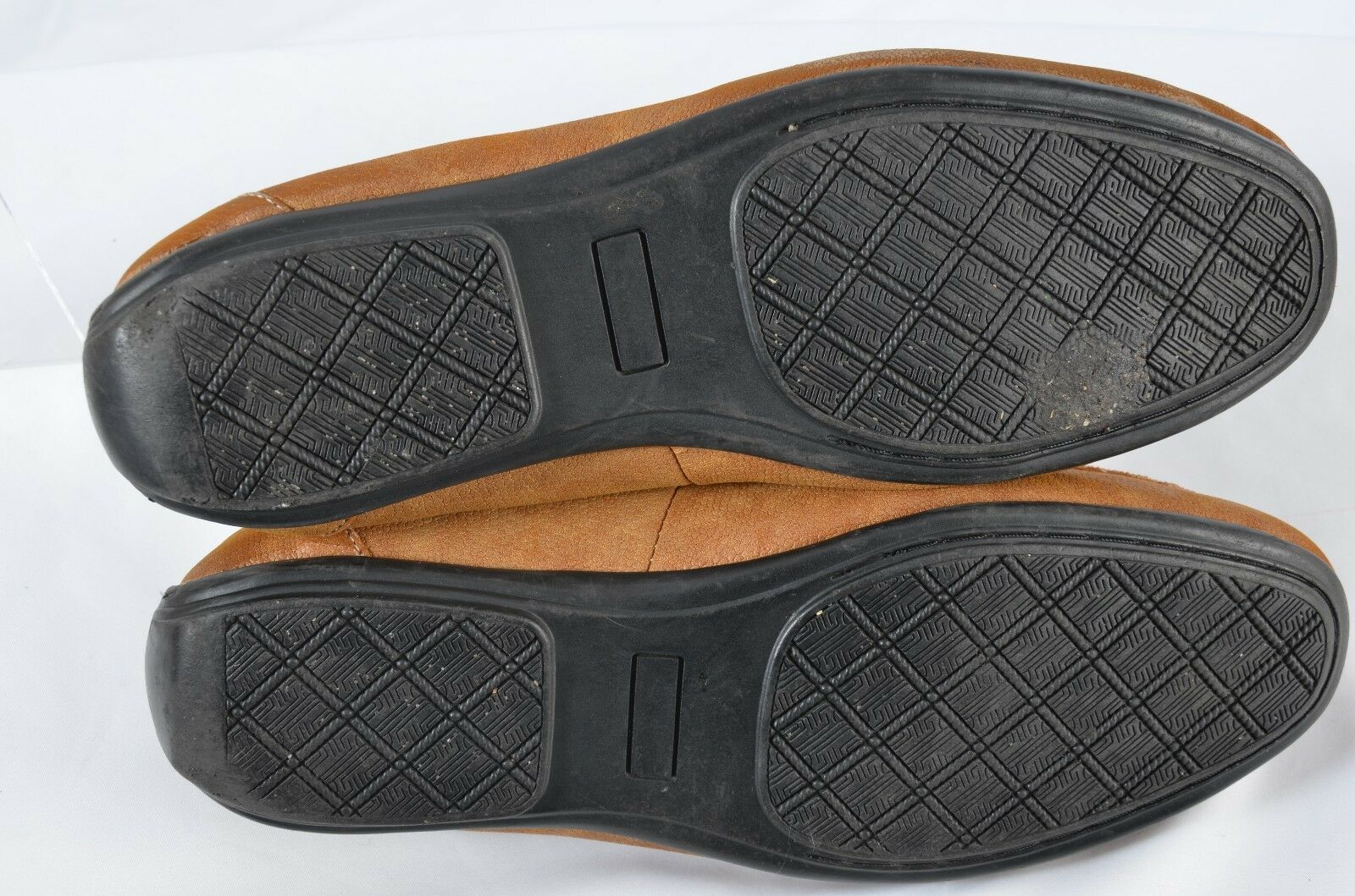Dr Scholls Double Air Pillo Pillo Air Insoles Men Size 10.5D Comfort Walking Shoes Brown 959094